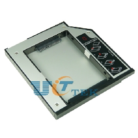 Special Design SATA 2nd HDD Caddy for IBM/Thinkpad Lenovo R400 R500 W510 W700 12.7mm SATA To SATA