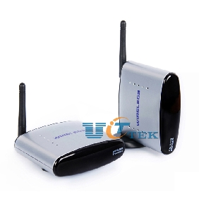 2.4GHz Wireless AV Sender TV Audio Video Transmitter receiver 150M