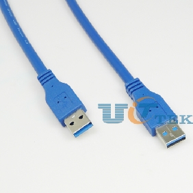1.5M USB 3.0 Cable A male to A male High speed 5Gbps for HDD Case