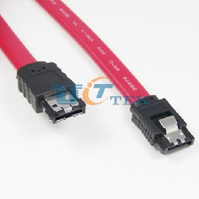 "SATA Serial ATA to eSATA External Shielded Cable 20"" 50cm"