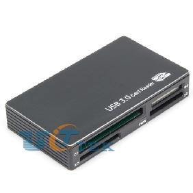 USB 3.0 Card Reader All In One with 6Slots TF CF SD MS XD M2 Micro SD Black