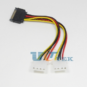 SATA (Male) Power Cable to 2x IDE Drive Y-Adapter