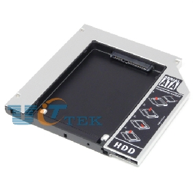 Laptop 2nd HDD SSD caddy for MacBook/ Pro A1181 A1260 A1261 non-unibody PATA IDE 9.5mm Optical Bay