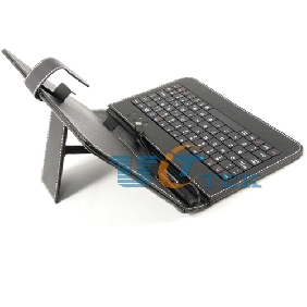 USB Keyboard Protective Leather Case Cover Stand for 7 inch Tablet PC MID