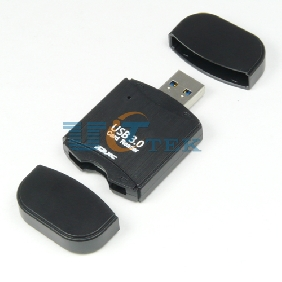 Mini Secure Digital USB 3.0 Carder Reader with TF SD Slots 2 in 1 5Gbps