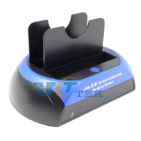 "USB 3.0 To 2.5"" 3.5inch IDE SATA HDD Hard Drive Docking Station Support 3TB with 3A Adapter"