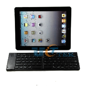 Foldable Folding Bluetooth Wireless Keyboard For Mobile Tablet iPad 3 4 iPhone 5 Andriod Phone Black