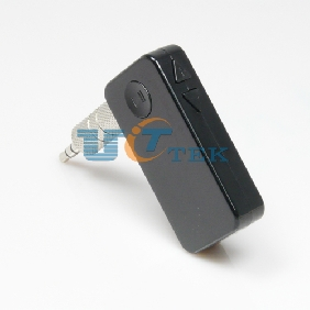 Car Bluetooth 3.5mm Hands-free Stereo Audio Music Receiver Adapter for Iphone Ipad MID Smart Phone