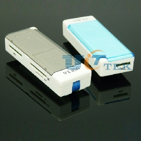 USB 3.0 Card Reader 4 in 1 Support SD Micro SD/TF MS M2 High-speed New Design With Memory Cards Case