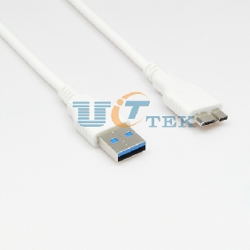 Special Design Micro USB 3.0 Data Charging Cable For SAMSUNG Galaxy Note 3 N9000 N9005 White 3ft