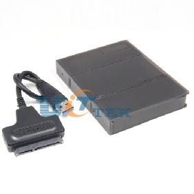 "USB 3.0 To SATA Converter Adapter Serial ATA HDD Cable + 2.5"" Inch HDD Box Case"