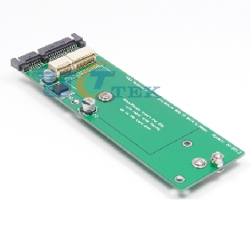 17+7P 2012 APPLE MACBOOK AIR A1465/6 A1435/6 MD223 MD224 MD231 SSD to SATA Adapter For desktop