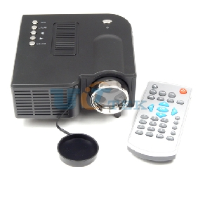 Mini Portable HD LED Projector Home Cinema Theater for Phone PC Laptop VGA USB SD AV HDMI