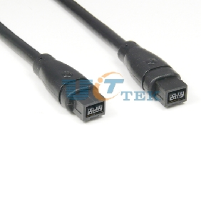 IEEE 1394B Male to 1394B Male Firewire 800 iLink Cable 9 Pin to 9 Pin 30Feet 10M