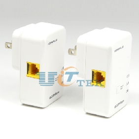 200Mbps Powerline Networking Adapter HomePlug AV Electric Power Adaptor