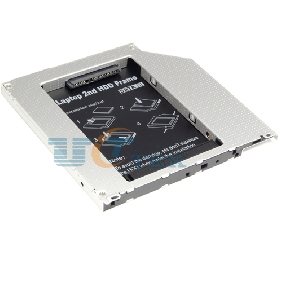Special Design Laptop optical bay 2nd HDD caddy for Apple MacBook MacBook pro Unibody SATA 3.0 to SATA