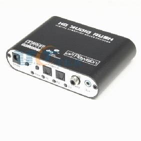 Digital Dolby AC3/DTS Optical SPDIF to 5.1/2.1CH Analog Audio Gear Surround Sound Rush Decoder
