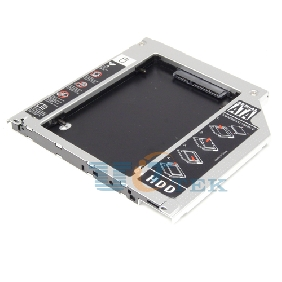 Special Design Laptop optical bay 2nd HDD caddy for Apple MacBook MacBook pro Unibody SATA to SATA 9.5mm