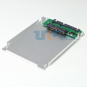 "1.8"" inch Micro SATA HDD SSD to 2.5 SATA HDD SSD Converter Adapter Case Enclosure"