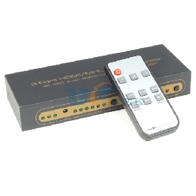 HDMI/MHL to HDMI with Audio Extractor 3In 1Out 4Kx2K ARC Audio EDID SPDIF+R/L 1.4v