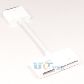 Digital AV HDTV Adapter 30 Pin Dock Connector to HDMI for Apple iPad 2 iPhone 4S