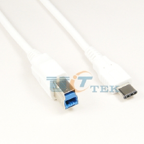 USB 3.1 Type-C to USB 3.0 B Male Cable Adapter AM Charger Data Cord