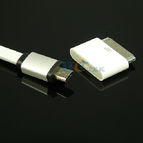 Micro USB to 30pin Adapter converter Dock Sync Data & charging connector Andriod Cable for Apple iPhone 4S 4 3GS 3G