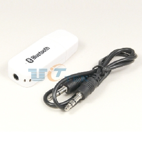 3.5mm USB Bluetooth Stereo Audio Music Speaker Receiver Adapter Dongle Black