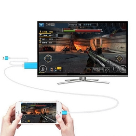 8Pin Lightning to HDMI HDTV Digital Video Cable Adapter For iPhone 6s Plus 5 5s To TV
