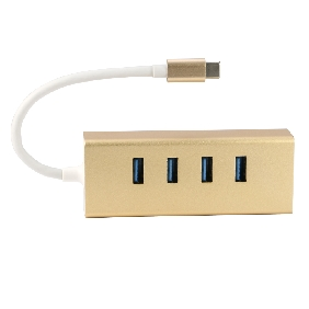 USB-C to USB3.0 HUB 4 Ports With USB 3.1 Type-C Charging Port For New MacBook Air 12 PC Laptop