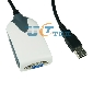 USB to VGA Adapter USB 2.0 Extra Monitor Multi-Display 1600x1200 Win7