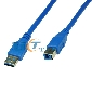 1.5M 5 Feet SuperSpeed USB 3.0 A Male to B Male Cable