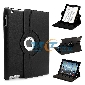 iPad 2 360 Rotating Magnetic Leather Case Smart Cover Stand