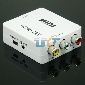 HDMI 1080p to AV CVBS Video Audio Converter Adapter 480i 576i NTSC PAL signal