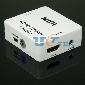 HDMI to HDMI + analog stereo Audio 3.5mm Jack Converter