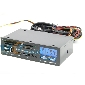 "5.25"" Media Dashboard USB2.0 SATA AC97 Audio 2x FAN Speed controller &Temperature Indicator LCD Card Reader"