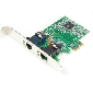 PCI-e Controller Card to Dual Port Gigabit Ethernet Network 2ports RJ45 LAN 1000M