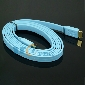 6Ft High Speed HDMI Cable 1.4 Version Male to Male for PS3 XBOX 360 V1.4 Flat