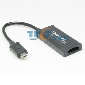 MHL MICRO USB TO HDMI HDTV ADAPTER GALAXY NOTE NEXUS VIVID EVO LG HTC