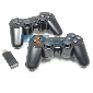 USB 2.4GHz Wireless Dual Twins Shock Controller Joystick for PC NOTEBOOK