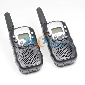 2pcs Walkie Talkie T-388 LCD 5km UHF Auto Multi 8 Channels 2-Way Radios Wireless