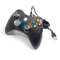 Black USB Wired Game Controller Gamepad Joypad Joystick For Xbox 360 Slim Accessory PC Computer Windows 7