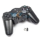 USB 2.4GHz RF Wireless Shock Controller Joystick for PC Notebook Digital and Analog