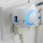 1 Port USB Power Charger 2.1A for Iphone ipad Samsung smart phone+ Night Light EU