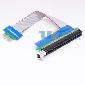 PCI-E Extension 1x to 16x Riser Extender Card Adapter Cable 19cm