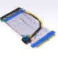 PCI-E 16x PCI-Express Riser Card Extender Cable Flexible Ribbon w/ Molex Power Connector