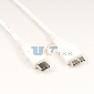 USB 3.1 Type-C to USB 3.0 Micro B Cable Adapter Charger Data Cor