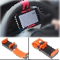 Car Steering Wheel Phone Socket Holder Bracket Mount for Mobile Cell Phone GPS