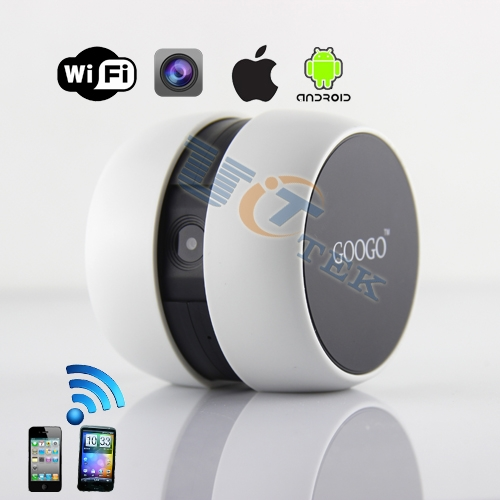 portable googo webcam for android ios smartphone tablet baby monitor cctv camera wifi camera. Black Bedroom Furniture Sets. Home Design Ideas